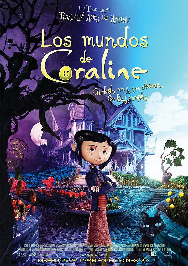 Los mundos de Coraline (Henry Selick, 2.009)