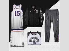 NBA, adidas Unveil 2015 All Star Jerseys