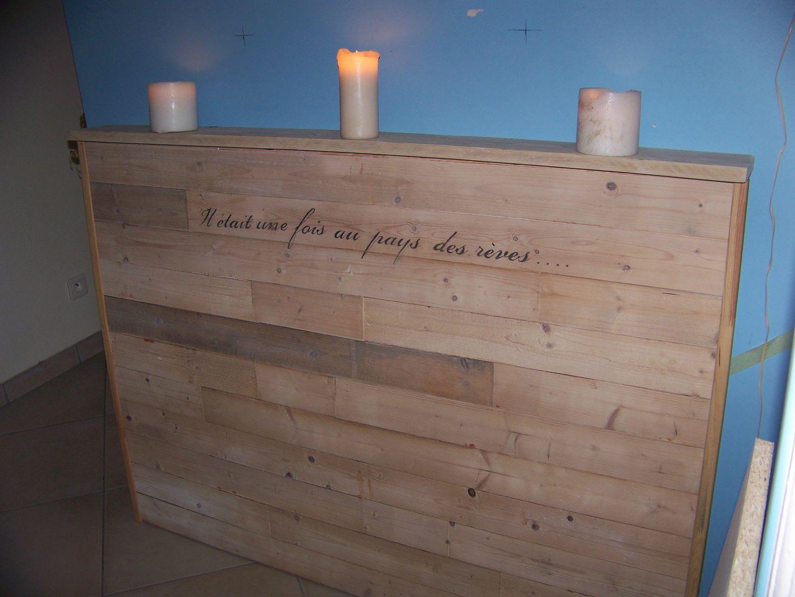 meuble cuisine dimension construire une tete de lit en bois. Black Bedroom Furniture Sets. Home Design Ideas