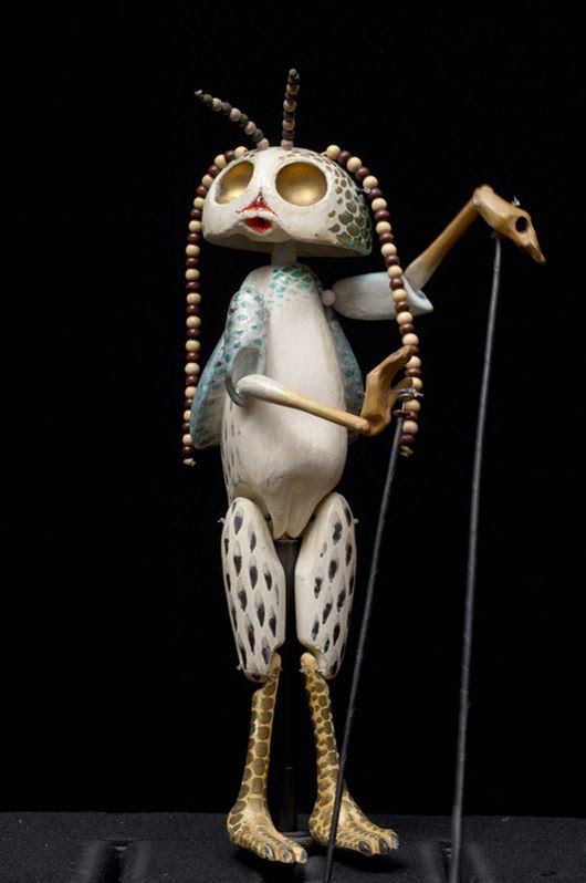 The incredible rod-puppets of Richard Teschner (many more photos at link)