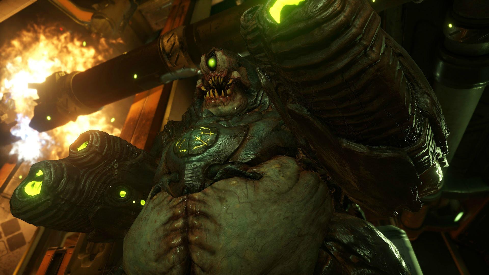 Doom's Olivia Pierce was inspired by Tilda Swinton screenshot