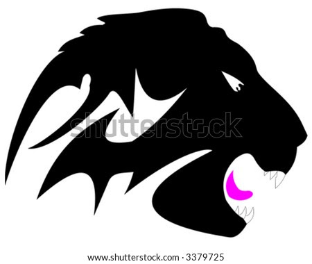 Size:400x372 - 27k: Tribal Lion Tattoo