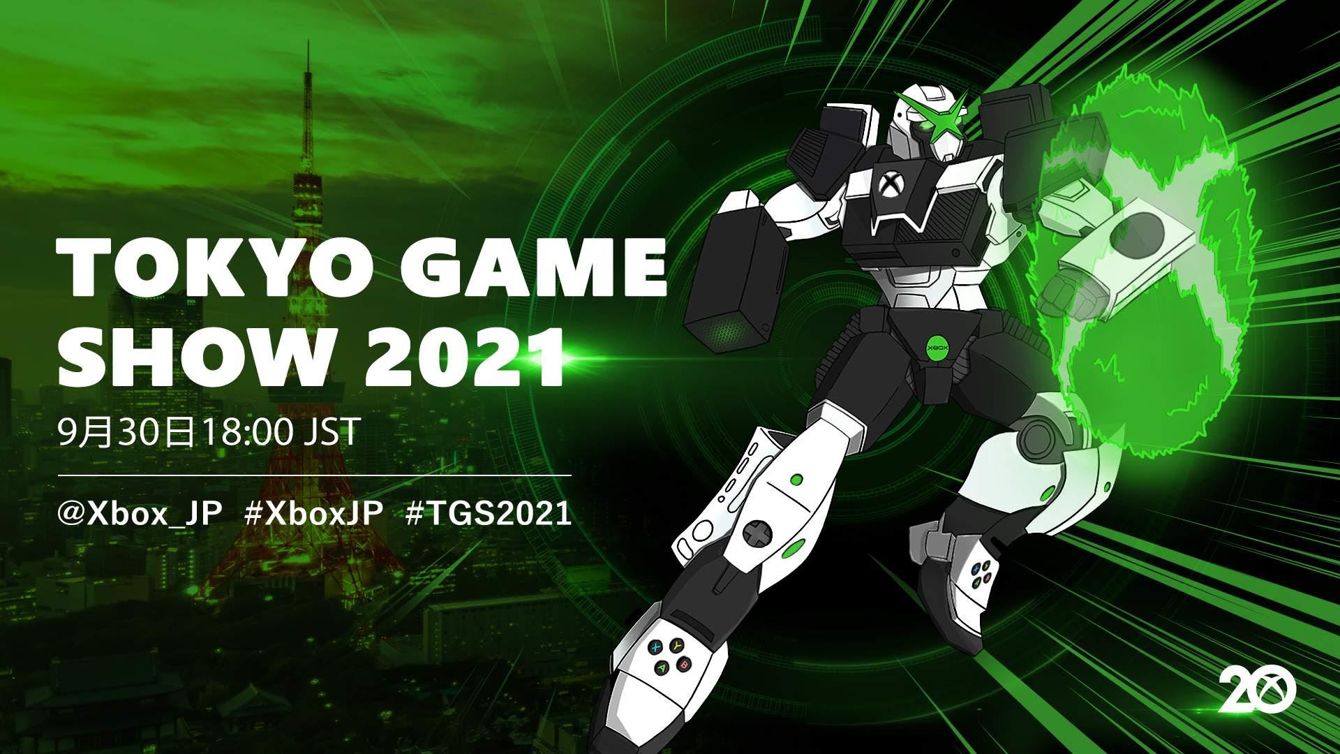 Digital Showcase 2021: Xbox kehrt zur Tokyo Game Show 2021 zurück