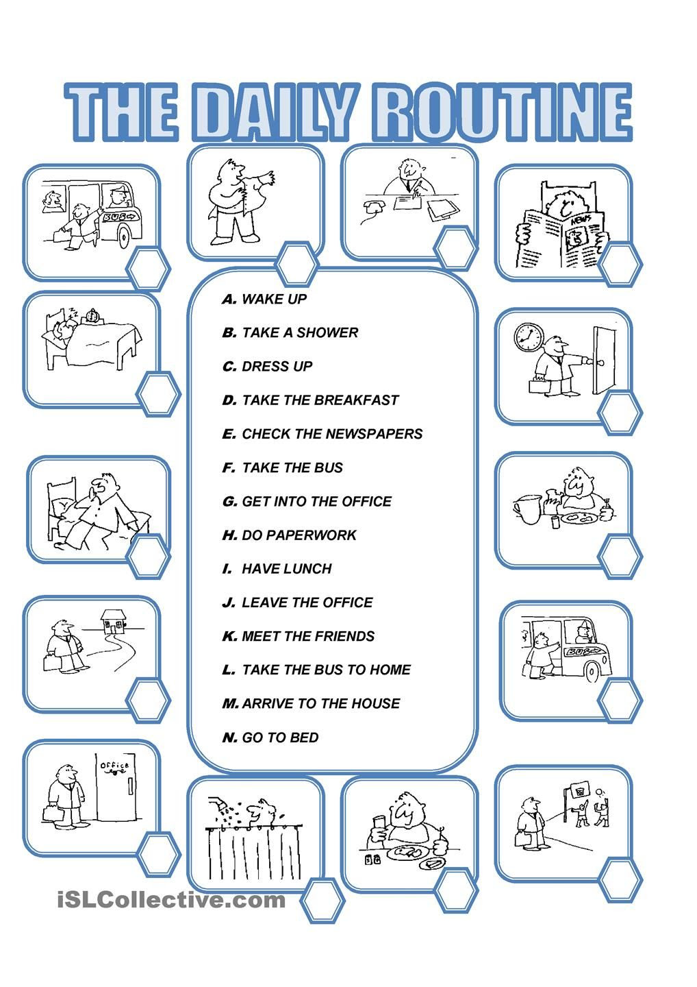 DAILY ROUTINE   teaching   Pinterest   Student-centered resources ...