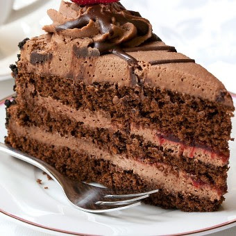 Mile-High Chocolate Layer Cake