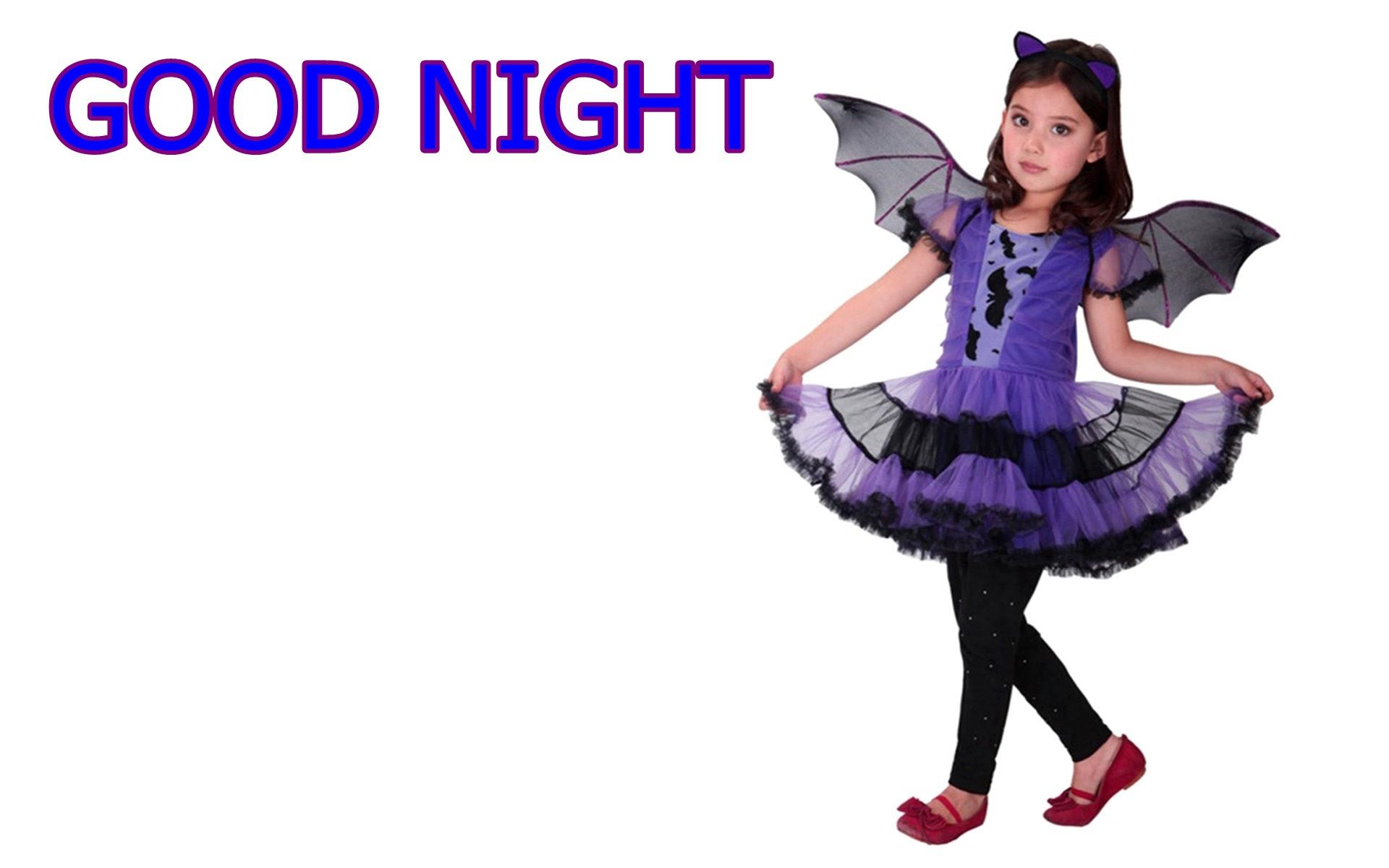 Cute Baby Girl Good Night Wallpaper Djiwallpaperco