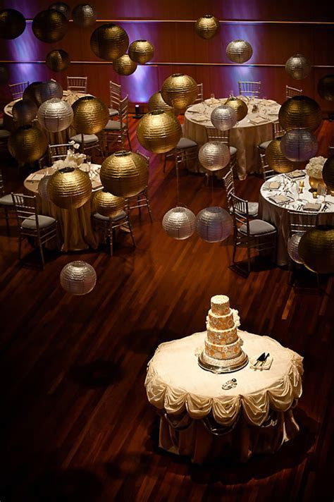 Sophisticated Gold and Silver Wedding at Overture Center