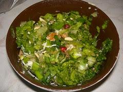 fruity lettuce salad