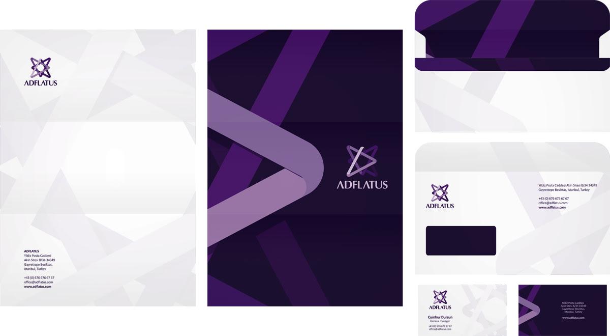 Stationery design, identity design, branding by Alex Tass