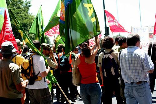 manifestación de agentes forestales en madrid