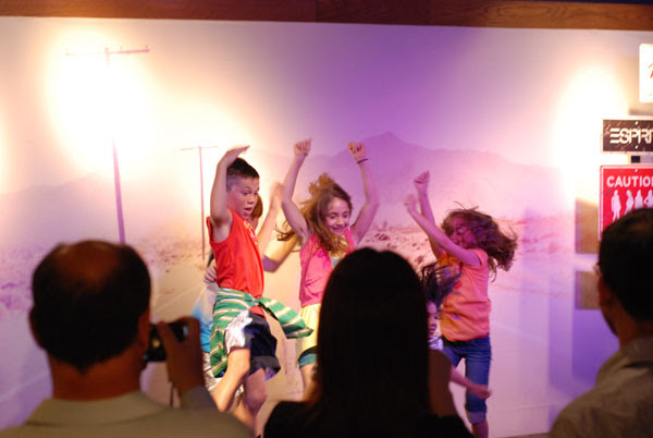 Kids Dancing, ESPRIT Icon store launch Sydney
