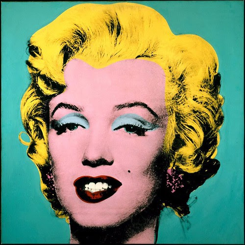 Turquoise Marilyn by Andy Warhol