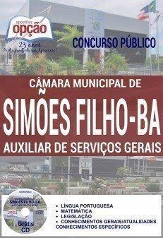 Apostila Concurso Câmara de Simões Filho BA AUXILIAR DE SERVIÇOS GERAIS