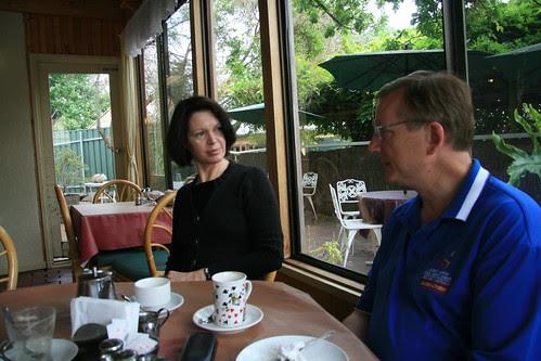 Sue Milne and Philip Keane
