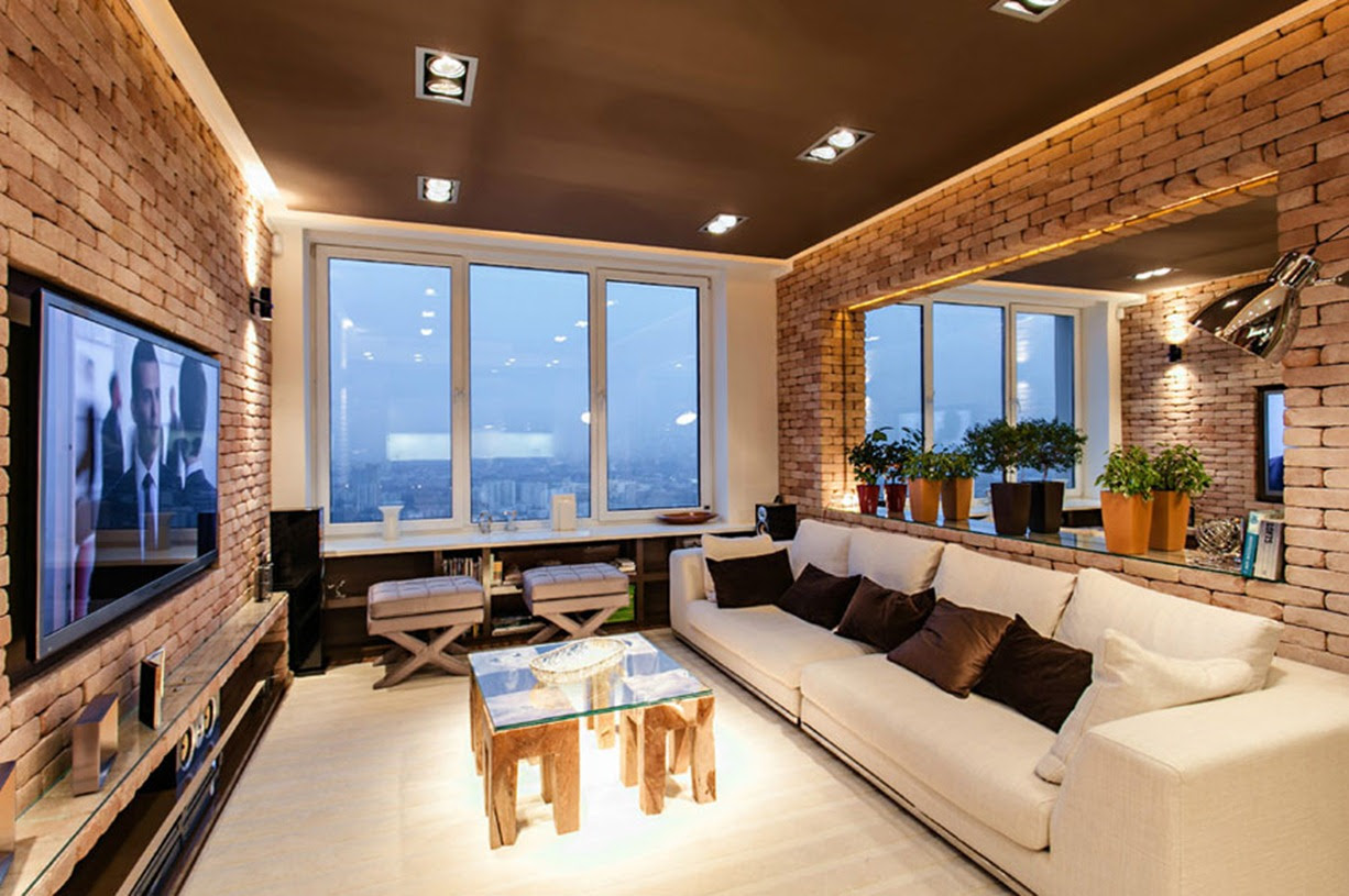 Laconic and Functional New York Loft Style ...