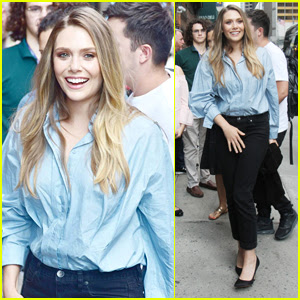 Elizabeth Olsen is All Smiles Stepping Out in NYC