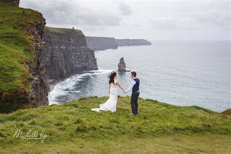 Destination Wedding Ireland  Cliffs of Moher   Doolin Clare