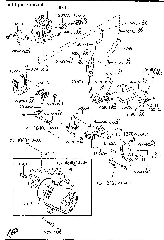 Mazda 6 Vacuum Hose Diagram - Wiring Diagram Schemas