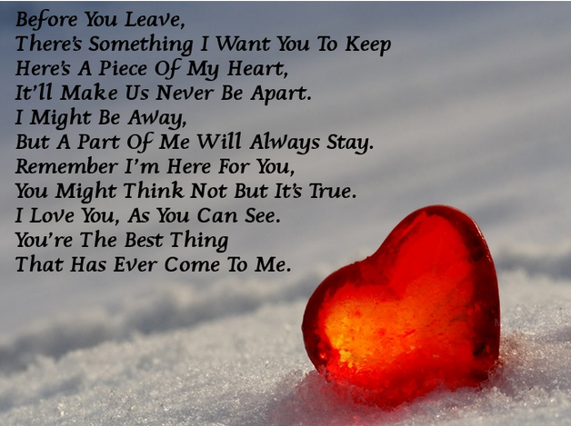 31 Short Love Poems For Him With Images