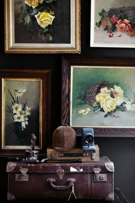 Down and Out Chic: Interiors: Dark and Lovely