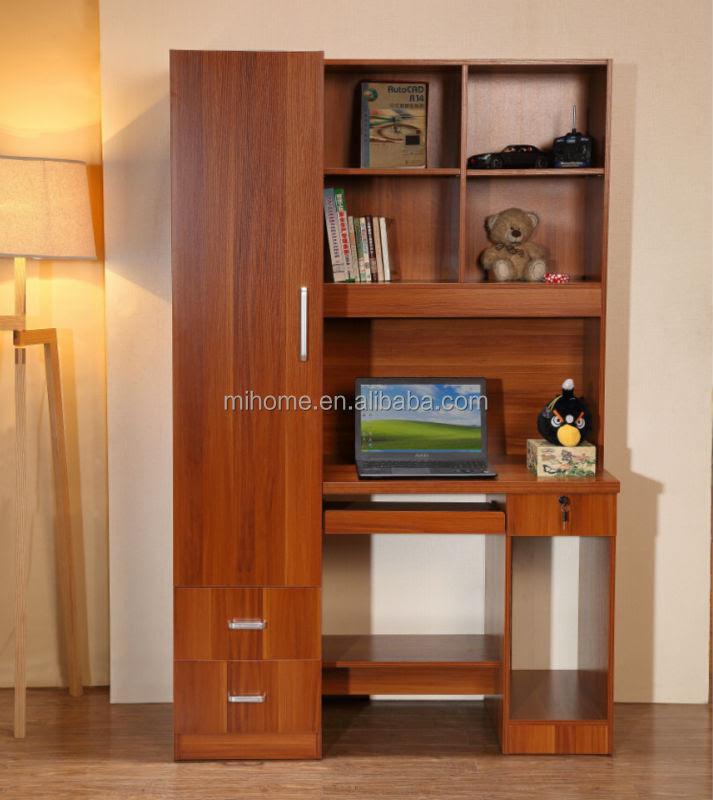 Study Table With Bookshelf Design Loris Decoration