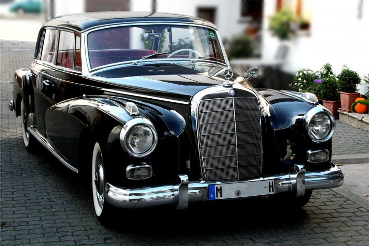The Top 10 Mercedes Models of the 1950s