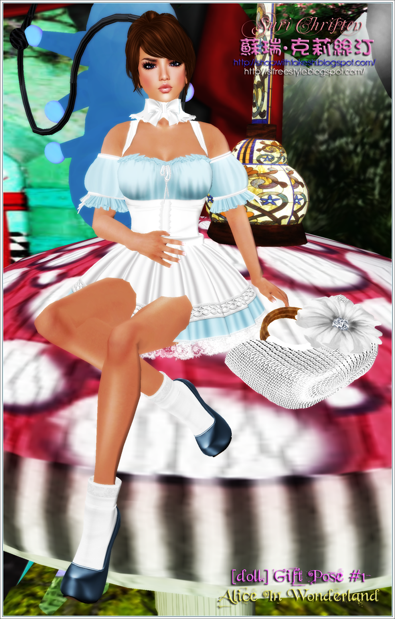 [doll.] Gift Pose #1 - Alice In Wonderland