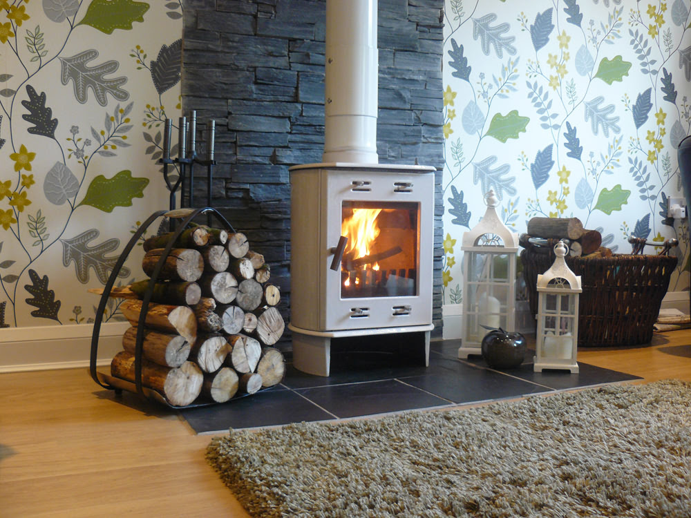 75+ Wood Burning Stove Surround Ideas