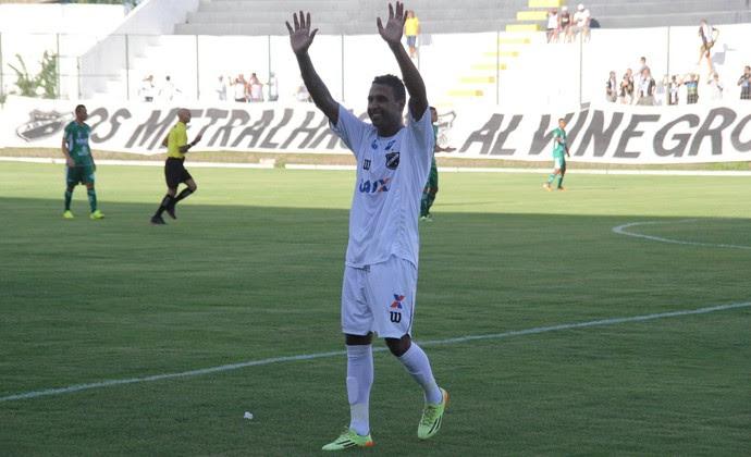 Fabinho Alves - atacante do ABC (Foto: Fabiano de Oliveira)