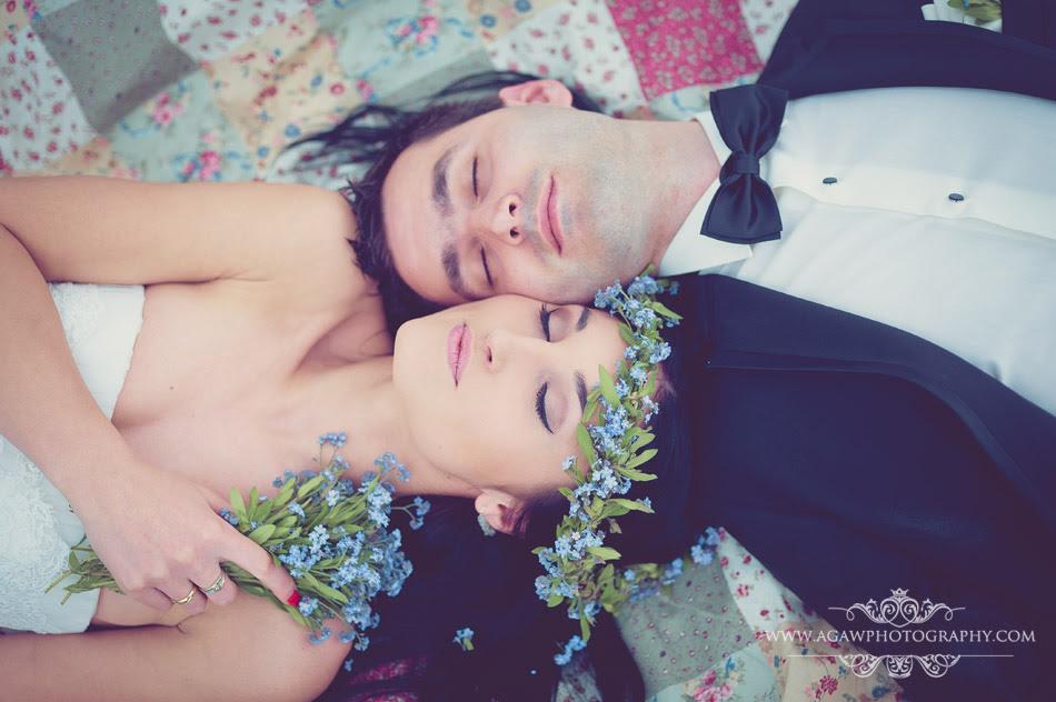 ślub niezapominajki