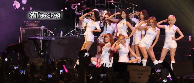 Girls' Generation Twin Towers @live Concert 2012 | TianChad.com