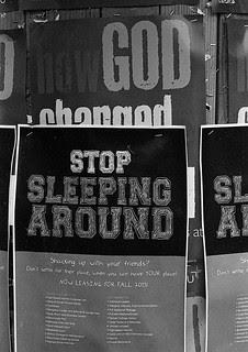 Stop Sleeping Around!