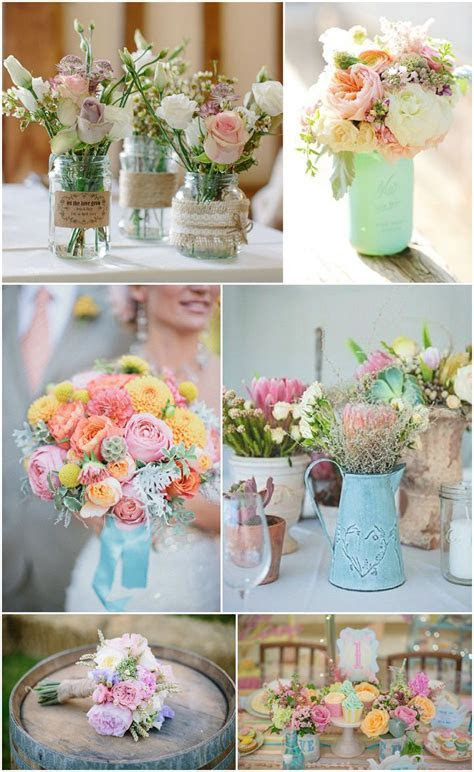 Ideas and Inspiration for your Pastel Wedding   Boho