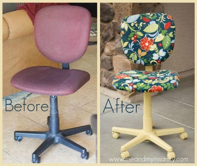 Roundup: Office Chair Makeovers » Curbly | DIY Design Community