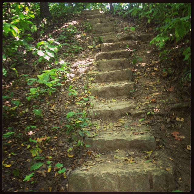 NOT the stairway to Heaven. But not as bad as they usually are, either.