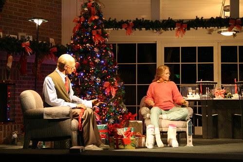 Christmas tree at the Carousel of Progress