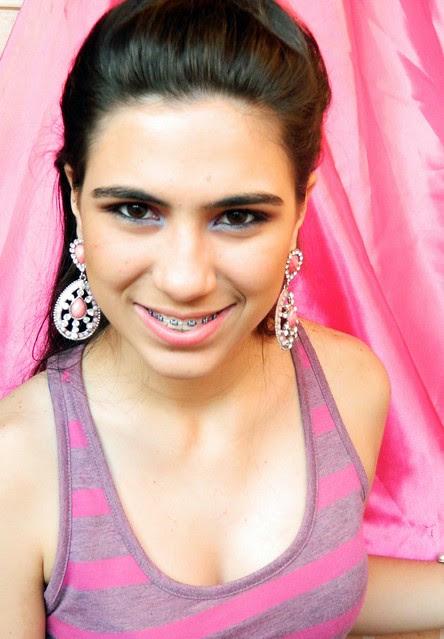 juliana leite penteado de princesa pink trança embutida espinha de peixe12