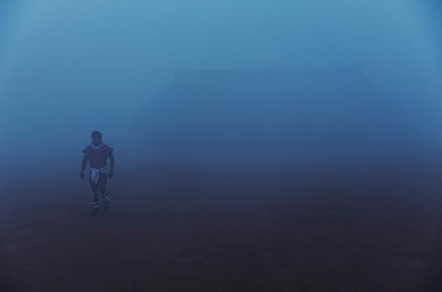 CLIQUE PARA VER GALERIA: Amanhecer na aldeia Yawalapiti, no Parque Indigena do Xingu, Mato Gosso