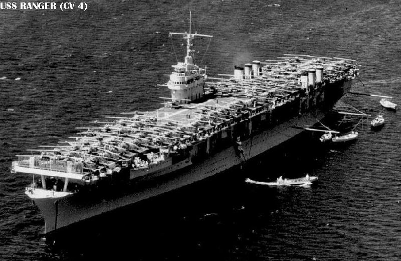 Image result for 1933 - The aircraft carrier Ranger was launched