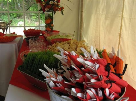 fall barbecue wedding reception ideas   Few Inexpensive