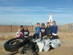 Winter Beach Clean-Up New Buffalo