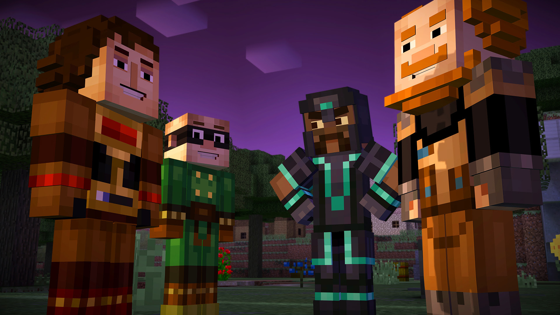 Ratings board leaks Minecraft Story Mode Season Two screenshot
