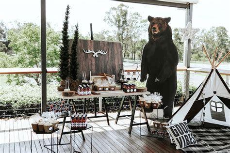 "Kara's Party Ideas Lumberjack   ""Wild ONE"" 1st Birthday"