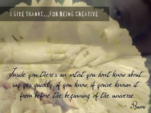 {Gratitude} Day 21 ~ Creativity