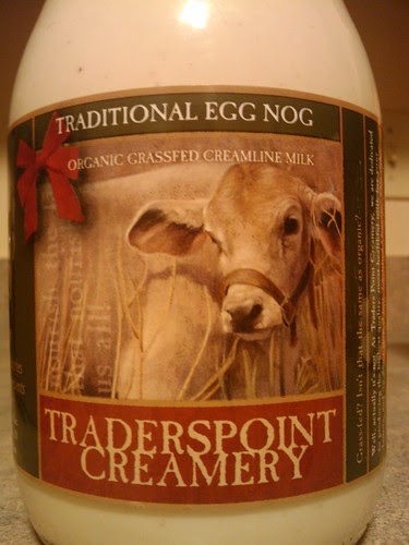Eggnog review: Traderspoint Creamery Traditional Eggnog