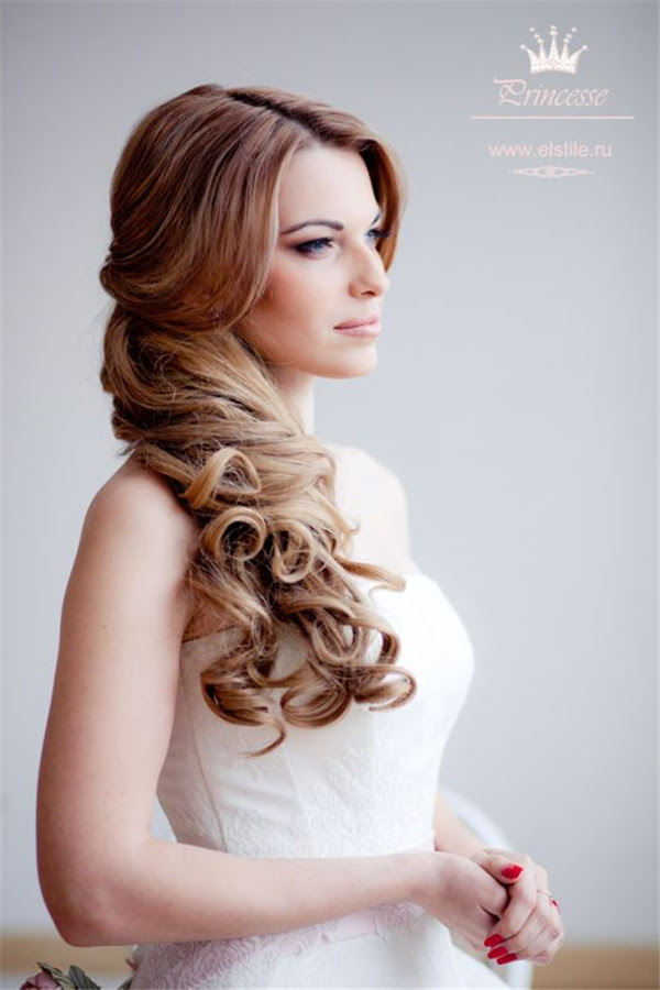 20 Gorgeous Half Up Wedding Hairstyle Ideas   Deer Pearl ...