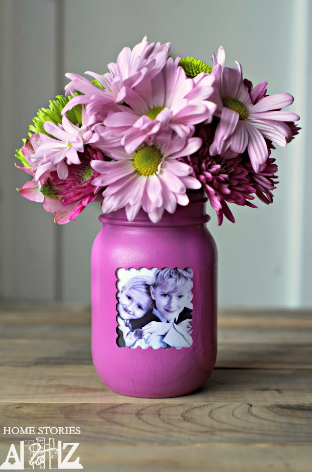 Mothers Day Mason Jar Gift Mason Jar Crafts Love