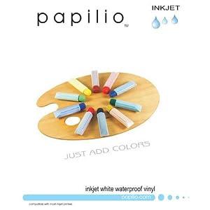 Bumper Sticker Paper Papilio Inkjet Waterproof White Vinyl Decal
