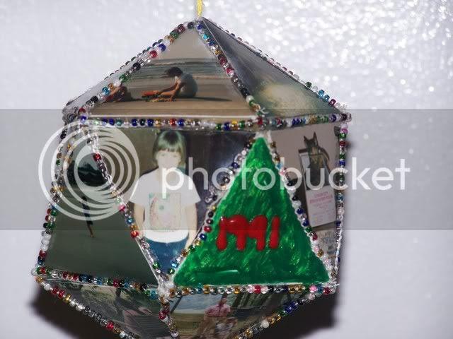 1991 photo ornament