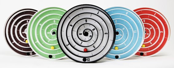 Cool-Wall-Clock-with-Balls- ...